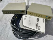 (2) Swann Security Quad Processor Sw-D-Qpro Video Color B&W Switcher Controller