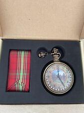 MacKenzie-Childs Yule Time Pocket Watch Ornament New!