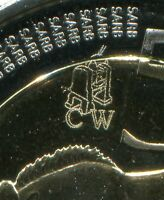 South Africa Coin World Oom Paul 2014 R5 Proof Like Coin Mint Mark Rare - COA