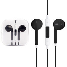Cuffie auricolari EARPODS con microfono per Apple Iphone 6 & 6s & 6Plus & 7 Nere
