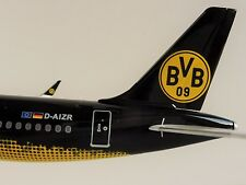 BVB EUROWINGS Airbus A320 1/200 Herpa 558167 Mannschaftsairbus BORUSSIA DORTMUND