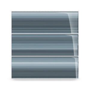 Deep Ocean Hand Painted Glass Tile (5 Sq/Ft box) Kitchen Backsplash shower Bath