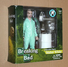BREAKING BAD Walter White 2013 Con Exclusive Green Hazmat Suit Mezco Figure