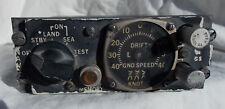 Vietnam War Era USN A-4 Skyhawk Type Doppler Groundspeed Indicator Console Box