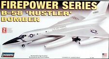 Lindberg 1:64 scale B-58 Hustler Bomber Model Kit #70540