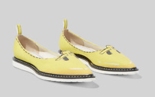 MARC JACOBS SHOES THE MOUSE FLAT POINTED TOE YELLOW CANVAS EU 39 / US 9  $295