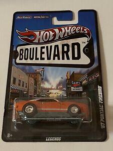 Hot Wheels Boulevard '67 Pontiac Firebird Legends Real Riders