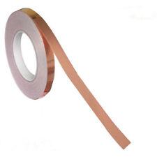 Single Conductive Copper Foil Tape EMI Shielding Slug Snail barrier 10mm*20m