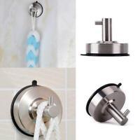 Vacuum Suction Cup Sucker Shower Towel Bathroom Kitchen Wall Hook Holder Hanger