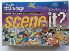 Disney Scene It Trivia DVD Board Game 2004 Complete