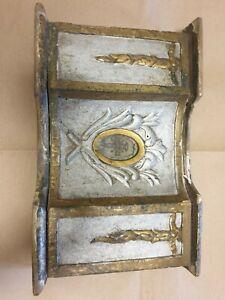 Antico reliquiario in legno laccato 'fine 700- inizio '800