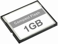 1GB COMPACT FLASH MEMORY CARD DSLR CAMERA ETC (message for other compatibility)