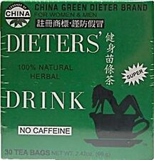 Uncle Lees Teas Dieters Tea for Weight-Loss & Diet - NEW/SEALED!!