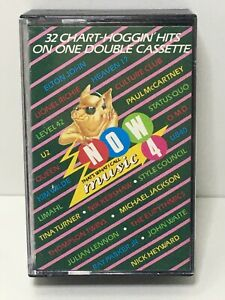 Now That's What I Call Music 4 double Cassette Tape 1984 very good condition