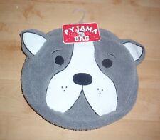 BNWT Primark womens french Bulldog grey pyjama case