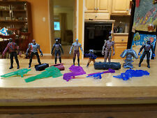 "Marvel Guardians of the Galaxy Mini Figures 2.5"" Lot Starlord, Drax, Groot, etc"