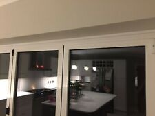 Top Quality Aluminium Bi Fold Doors in 3 Panel with Glazed Glass 3.0m X 2.1m