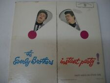 The Everly Brothers  Instant Party! mono  LP