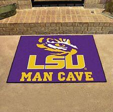 "LSU Tigers Man Cave 34"" x 43"" All Star Area Rug Floor Mat"