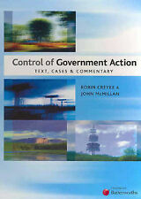 Control of Government Action: Text, Cases and Commentary: Text, Cases and Comme…