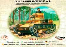 VICKERS E MK B - POLAND 1939 1/35 MIRAGE !RARE!