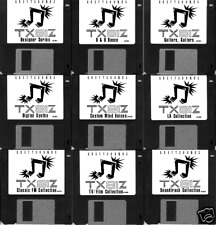 Yamaha TX81Z Synth Patches - 9 bank set - emailed to you for download via MIDI