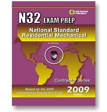 N32 National Standard Residential Mechanical Study Exam Prep Questions Workbook