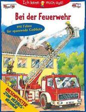 """Sachwissen für Kinder """"Bei der Feuerwehr"""" Ich kenn mich aus! mit RIESENPOSTER"""