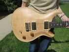 Prs Modern Eagle 1 NOS Brazilian Rosewood Neck Old Natural Double Cut Tremelo for sale