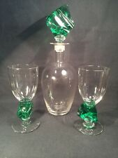 Vintage Limited Edition Decanter And Glasses Set (ref B086)
