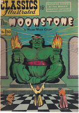 CLASSICS ILLUSTRATED #30 THE MOONSTONE by William Wilkie Collins (HRN 70)