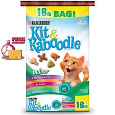 (New) Purina Kit & Kaboodle Indoor Dry Cat Food, Indoor - 16 lb. Bag