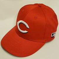 Cincinnati Reds Hat MLB Baseball OC Sports Red / Black Cap Mens Adjustable