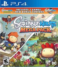 Scribblenauts Mega Pack PS4 New PlayStation 4,PlayStation 4