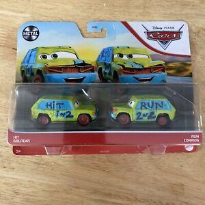 Disney Pixar Cars Hit And Run. Metal. Htf