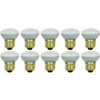(10 Pack) 25R14 25 Watt E26 Medium Base Reflector R14 Incandescent Light Bulb