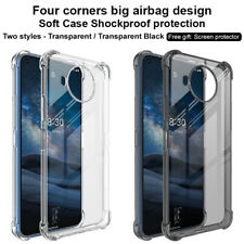IMAK Shockproof Airbag Silicone Soft Gel TPU Back Case Cover For Nokia 8.3 5G