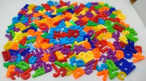 200 + Lot of Magnetic Fridge Vintage Alphabet Letters ABC Express Yourself eBay!