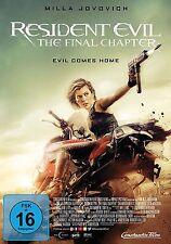 DVD * RESIDENT EVIL : THE FINAL CHAPTER | MILLA JOVOVICH # NEU OVP +