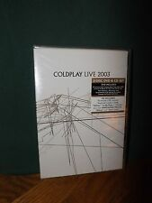 COLDPLAY LIVE 2003, 2-DISC DVD & CD SET, BRAND NEW AND STILL SEALED, 2003