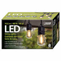 Feit Electric 48 FT LED Outdoor String Lights Commercial Grade (0646)