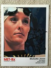 Rare Personally Autographed Photo of Michellie Jones 2000 Olympic Triathlon