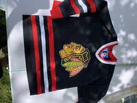 VINTAGE KOHO CHICAGO BLACKHAWKS ERIC DAZE #55 NHL HOCKEY JERSEY S/m YoUth RARE
