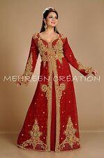 Marroquí Caftanes Abaya Dubái Medio Oriente Boda Farasha de Fiesta Vestidos Var