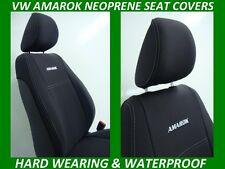 VOLKSWAGEN AMAROK FRONT& REAR NEOPRENE SEAT COVERS ( WETSUIT FABRIC )