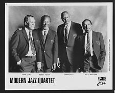 Vintage Original Ltd Edition Promo Photo 8x10 Modern Jazz Quartet 1993