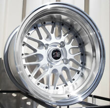 15x9 Rota KENSEI 4x114.3 -15 Royal Silver Wheel (1)