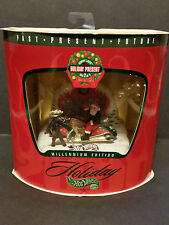 Hot Wheels 1999 Millenium Edition Holiday Present Set 2/3 Scorchin Scooter Santa