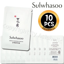 Sulwhasoo Gentle Cleansing Foam EX 5ml x 10pcs (50ml) Sample AMORE New Version