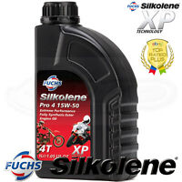 Silkolene PRO 4 15w-50 Full Synthetic Ester 4T Bike Engine Oil - 1 LITRE